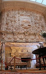 Marble Fireplace, Cragside, Northumberland (Geraldine Curtis) Tags: northumberland nationaltrust williammorris artsandcrafts cragside marblefireplace