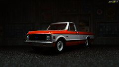 '71 Chevy C10 Cheyenne (Matheus_Loureno) Tags: 1971 71 164 greenlight loose c10 countyroads chevroletpickup series8 chevroletcheyenne