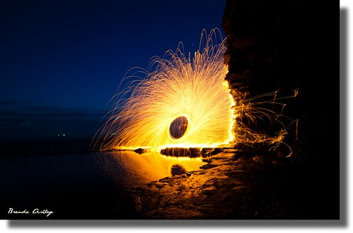 Steel Wool spin at Bogey hole