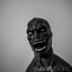 the lizard. (maika.) Tags: toys rawr comicbook villains thelizard theamazingspiderman lightroom4