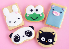 Kawaii Cookies (IFeelCook) Tags: cookies kawaii japanesefood tarepanda chococat sugarcookies keroppi royalicing japanesepopculture bunnycookies kawaiicookies bearcookies kawaiifood riceroar