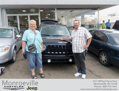 Monroeville Chrysler Jeep would like to say Congratulations to Beverly Goffus on the 2011 Jeep Patriot