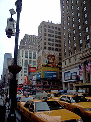 Taxis & Ticket Oak (paul.hadsall) Tags: newyorkcity newyork taxis manahattan ticketoak