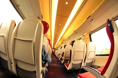 Travel 2 (Steve J O'Brien) Tags: england train canon railway virgin seats 8mm samyang