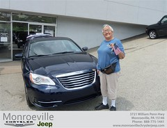 Monroeville Chrysler Jeep would like to say Congratulations to Gertrude Chingwa on the 2013 Chrysler 200 Series (Monroeville Chrysler Jeep) Tags: new car sedan truck wagon happy pittsburgh jeep pennsylvania used vehicles pa bday chrysler van minivan monroeville suv coupe dealership shoutouts hatchback dealer customers 4dr 2dr preowned