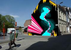 Mural @ boerenhol, Kortrijk, Belgium (bezembinder) Tags: mural kortrijk bezembinder boerenhol