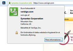 Verisign Certificate Subject (Jan Egil Kristiansen) Tags: certificate verisign
