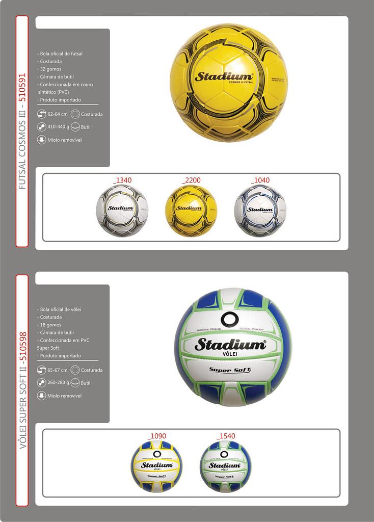 Catálogo Bolas 2013 FINAL 14 (Stadium Sports) Tags  stadium mirage bola  society oficial 629c5135f9813