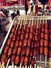 Chinese Street Food (jasonlsraia) Tags: china beijing chinadigitaltimes streetfood donghuamennightmarket 2013 silkwormcocoons