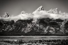 Teton Range (ivanpenaphoto) Tags: park bw america canon landscape fineart national teton range ivanpena fineartbyivan ivanpea