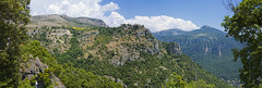 _DSC0791pano (Patti Sullivan Schmidt) Tags: panorama france alps landscape village provence gourdon perchedvillage