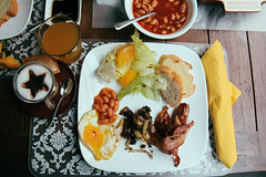 Long Time (matrianklw) Tags: morning travel food holiday coffee breakfast private relax bacon salad beans singapore outdoor juice famous rich patio delicious homemade meal fancy sausages eggs romantic dining posh poolside homecooked luxury chill classy hearty