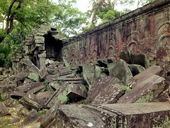 Ta Prohm (kalleboo) Tags: wood trees green temple cool rocks cambodia jungle growing angkor taprohm tombraider siamreap