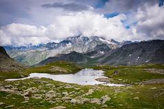 Wilde Alpen (mb arts) Tags: lake mountains st bernard clouds schweiz switzerland licht nikon san suisse grand gran nikkor bergsee bernardo wallis grosser valais d800 colle visipix