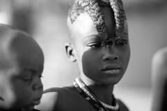 small woman (Andrea Bargi) Tags: africa park wild portrait white black animal canon child s