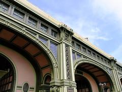 (Shane Henderson) Tags: newyorkcity windows newyork architecture plaque lights eagle manhattan arches medallion shield lowermanhattan beauxarts batterymaritimebuilding