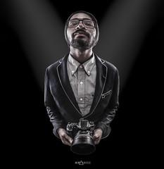 Bryan portrait (Bstatic) Tags: light portrait canon ronald 50mm wide spot bryan montage 12 blazer bstatic