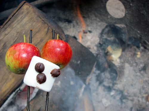 Apple S'more - Chuck & Edith's Excellent Vacation