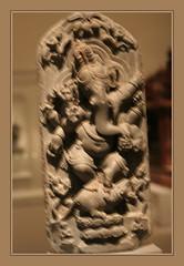 Dancing Ganesha (Sergei P. Zubkov) Tags: sculpture berlin art museum kunst may für dahlem 2011 asiatische