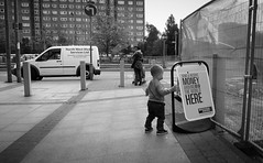he's not daft (Broady - Salford art and photography) Tags: life city people urban work manchester jobs documentary salford starsky broady hardworkingpeople stephenbroadhurst