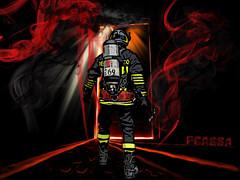 Verso l ignoto pericolo (pcassa#69) Tags: del fireman firefighter pericolo fuoco vigili pompiere vigile rischio ostacolo