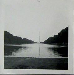 Washington Monument1964 (ShellyS) Tags: blackandwhite bw film washingtondc scanned washingtonmonument