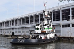 150406d565 (liverpolitan.) Tags: new york cruise red boat manhattan terminal tugboat tug hook