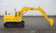 1:20 Ertl John Deere 690B excavator (Diecast Models collection) Tags: 120 john toy tin model plate 690 deere 116 excavator diecast britains tinplate ertl 690b