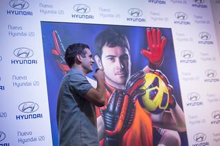 Retrato de Spok a Iker Casillas para InspirArt
