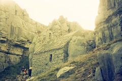 A52 1959 St Govan's Chapel (Margaret Stranks) Tags: wales rocks chapel pembrokeshire stgovans scannedoldslides