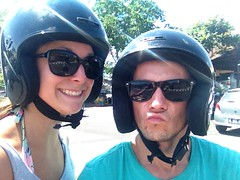 On explore Bali en scooter