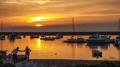 dolcemente (Fr@tes) Tags: sunset sea canon eos sand barca tramonto mare ship campania estate barche explore napoli acqua bacoli sabbia pozzuoli baia campiflegrei montediprocida