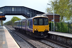 150134 - Birchwood (AJHigham) Tags: station liverpool manchester rail class 150 service northern birchwood stopping sprinter dmu 1501 150134