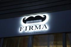 Открытие мужской парикмахерской FIRMA