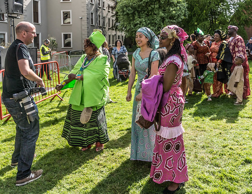 THE BEST DRESSED PEOPLE AT AFRICA DAY 2015 [FARMLEIGH HOUSE IN DUBLIN] REF-104468