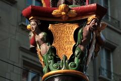Zhringerbrunnen Bern ( Altstadtbrunen - Brunnen - Fontaine ) in der Kramgasse in der Stadt - Altstadt Bern im Kanton Bern der Schweiz (chrchr_75) Tags: chriguhurnibluemailch christoph hurni schweiz suisse switzerland svizzera suissa swiss chrchr chrchr75 chrigu chriguhurni juni 2015 hurni150617 albumzzzz150617ausflugzrisee albumzzz201506juni juni2015 stadtbern kantonbern albumstadtbern stadt bern berne berna brn altstadt city ville brunnen fontain fontaine berner altstadtbrunnen albumbrunnenmitbrunnenfigurinderschweiz brunnenfigur figur skulptur fountain fontana