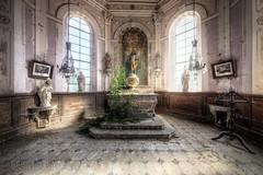 (satanclause) Tags: la chapelle des morts abandoned chapel abandonn eglise oputn kostel hdr urbex france