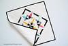 Mini Quilt (Jayne ~ Twiggy & Opal) Tags: paperpiecing miniquilt modernquilt artgalleryfabrics