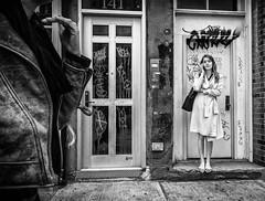 West Village NYC (Roy Savoy) Tags: bw blackandwhite street streetphotography digital city october people roysavoy nyc newyorkcity newyork blacknwhite streets streettog streetogs ricoh gr2 candid flickr explore candids photography streetphotographer 28mm nycstreetphotography gothamist tog mono monochrome flickriver snap monochromatic blancoynegro