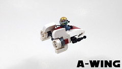 A-wing (curtydc) Tags: microfighter star wars tie fighter xwing awing atst ywing moc lego custom