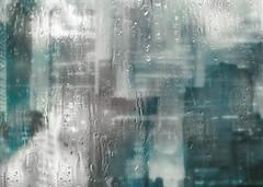 rainy city blues (Hal Halli) Tags: city rainy blues urban wallart sharingart