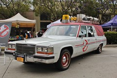13th Annual Culver City Car Show (USautos98) Tags: cadillac caddy caddie ambulance hearse ecto1 ghostbusters