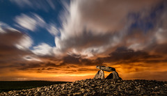 Heaven and Hell. (darklogan1) Tags: nightphotography dolmen longexposure rocks logan darklogan1 alava basque spain ngc