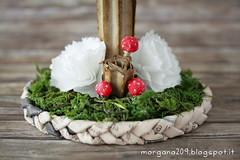 winterIsComing_08w (Morgana209) Tags: winter winteriscoming mushroom finghi sottobosco inverno incanto ricilo pirottini biscottialburro diy faidate creativit handmade alberp tree abete riciclocreativo natale christmas natale2016