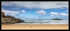 Darby River Beach Walk , Wilson's Prom , Victoria Australia (tsmpaul) Tags: canon eos600d rebelt3i kissx5 beach sea seascape ocean rocks island wilsonsprom victoria australia clouds sky sand