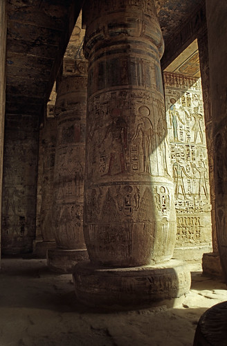 "Ägypten 1999 (524) Theben West: Medinet Habu • <a style=""font-size:0.8em;"" href=""http://www.flickr.com/photos/69570948@N04/30453539954/"" target=""_blank"">View on Flickr</a>"