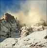 Foggy peaks (Katarina 2353) Tags: winter landscape italy courmayeur katarina2353 katarinastefanovic