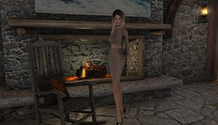 By the fire (ecerinei) Tags: emilyc shoes home necklace accesories
