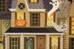 October 26 2016, Wednesday (interchangeableparts) Tags: worksinprogress needlepoint kirkbradley halloweenstitching