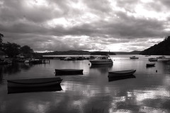 Balmaha Loch Lomond East Side Mono (monyet_uk) Tags: balmaha lochlomond